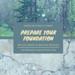 prepare your foundation for winter