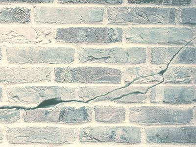 horizontal crack