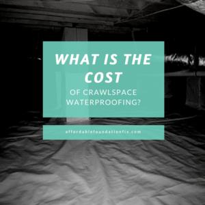 crawlspace waterproofing costs