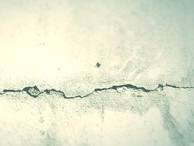 shrinkage crack