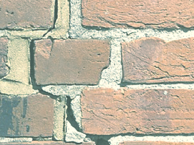 diagonal crack