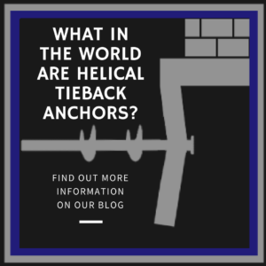 helical tieback anchors
