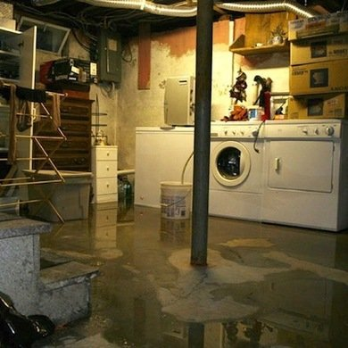 Water In Finished Basement