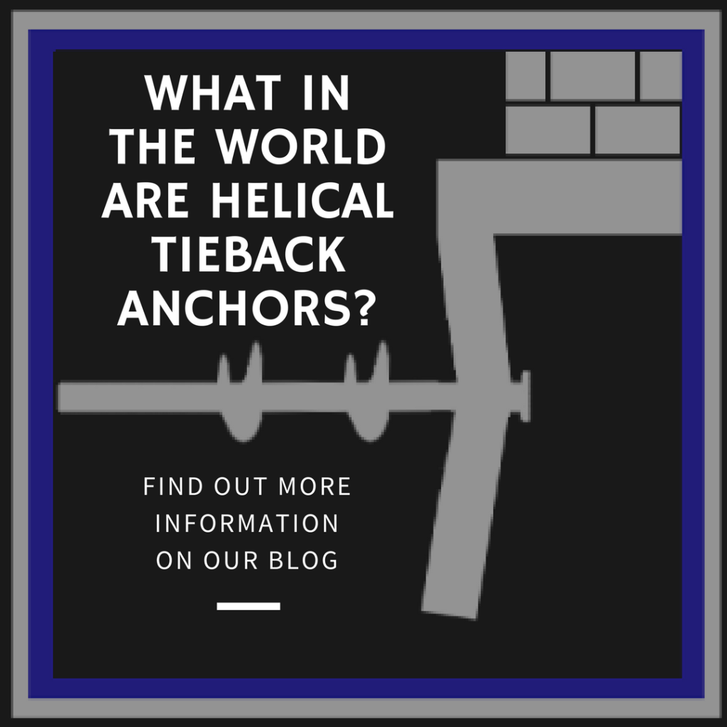 What Are Helical Tieback Anchors? | Affordable Foundation
