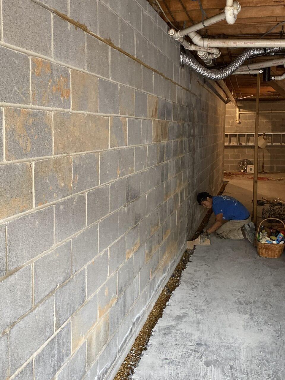 Wet Basement Huntsville Al Affordable Foundation Home Repair