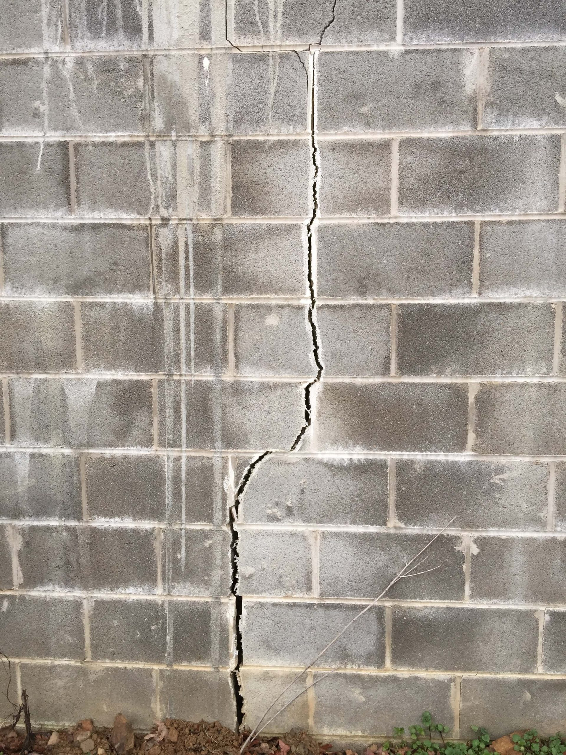 Cracks in Basement Block