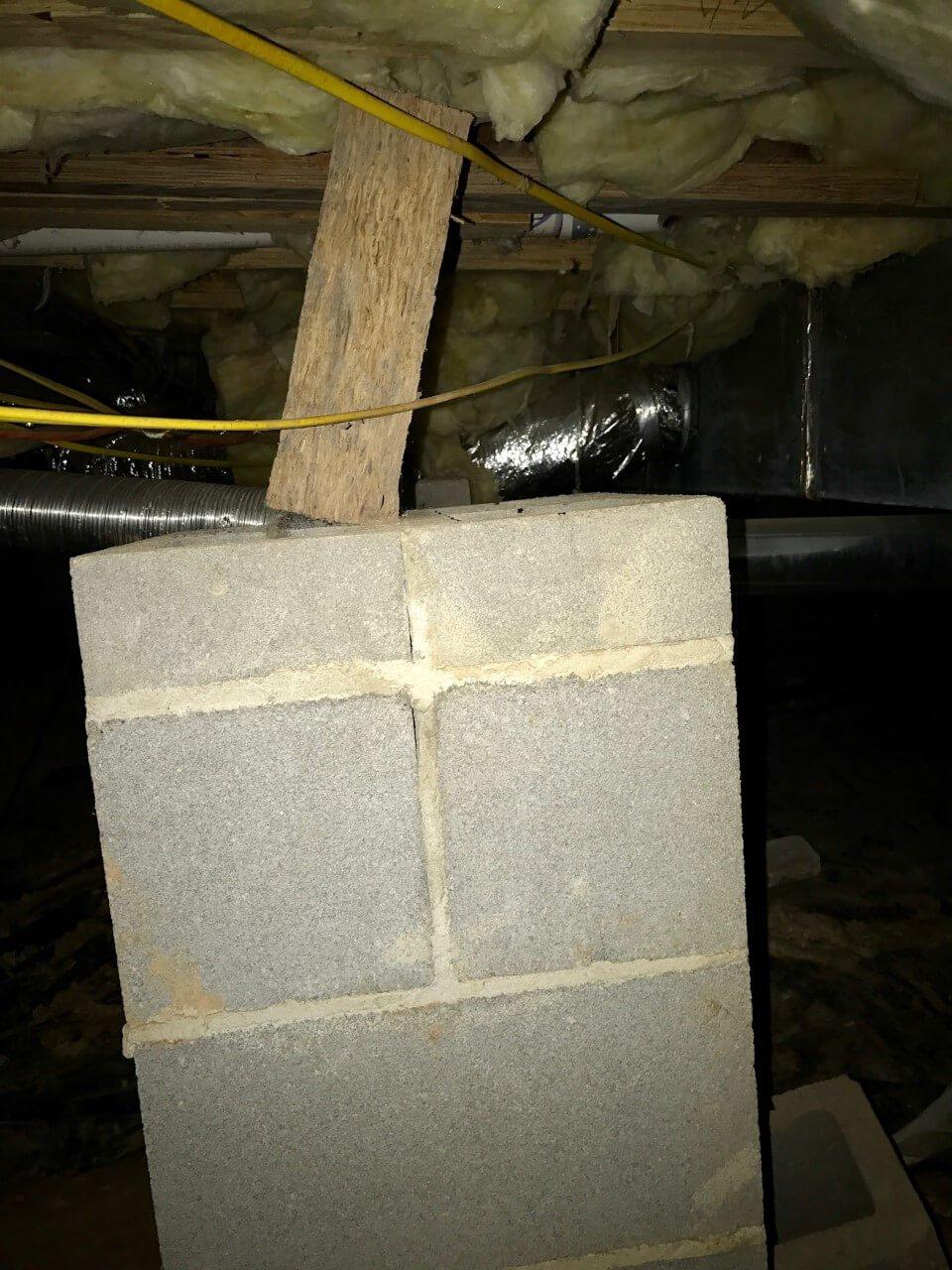 Improper Floor Support