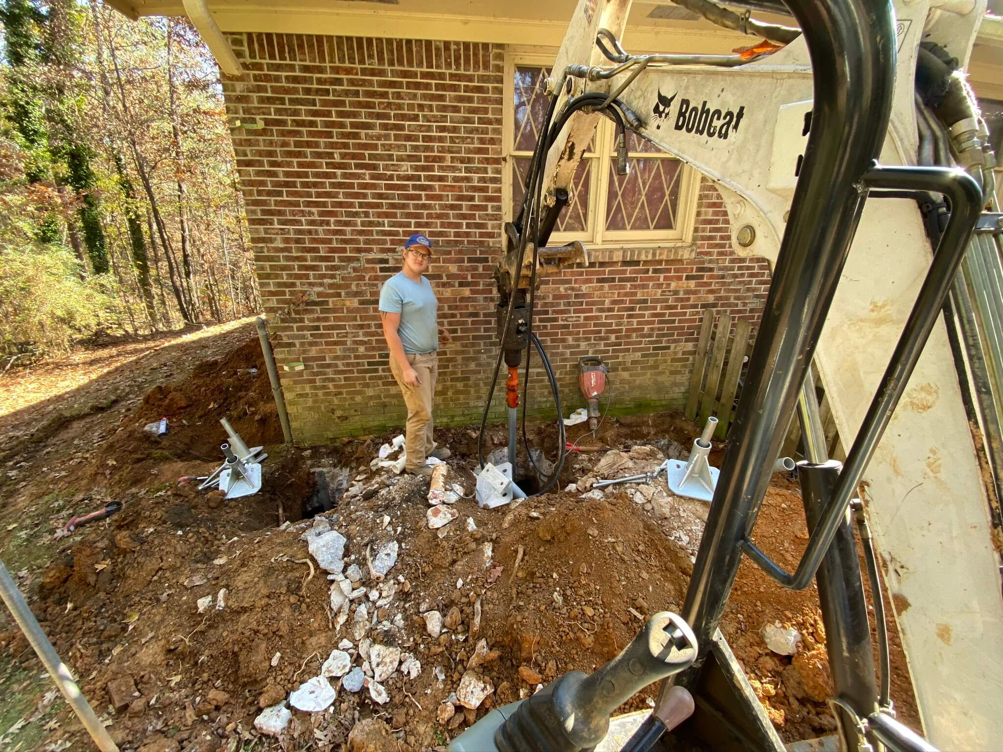 Foundation Repair Installation