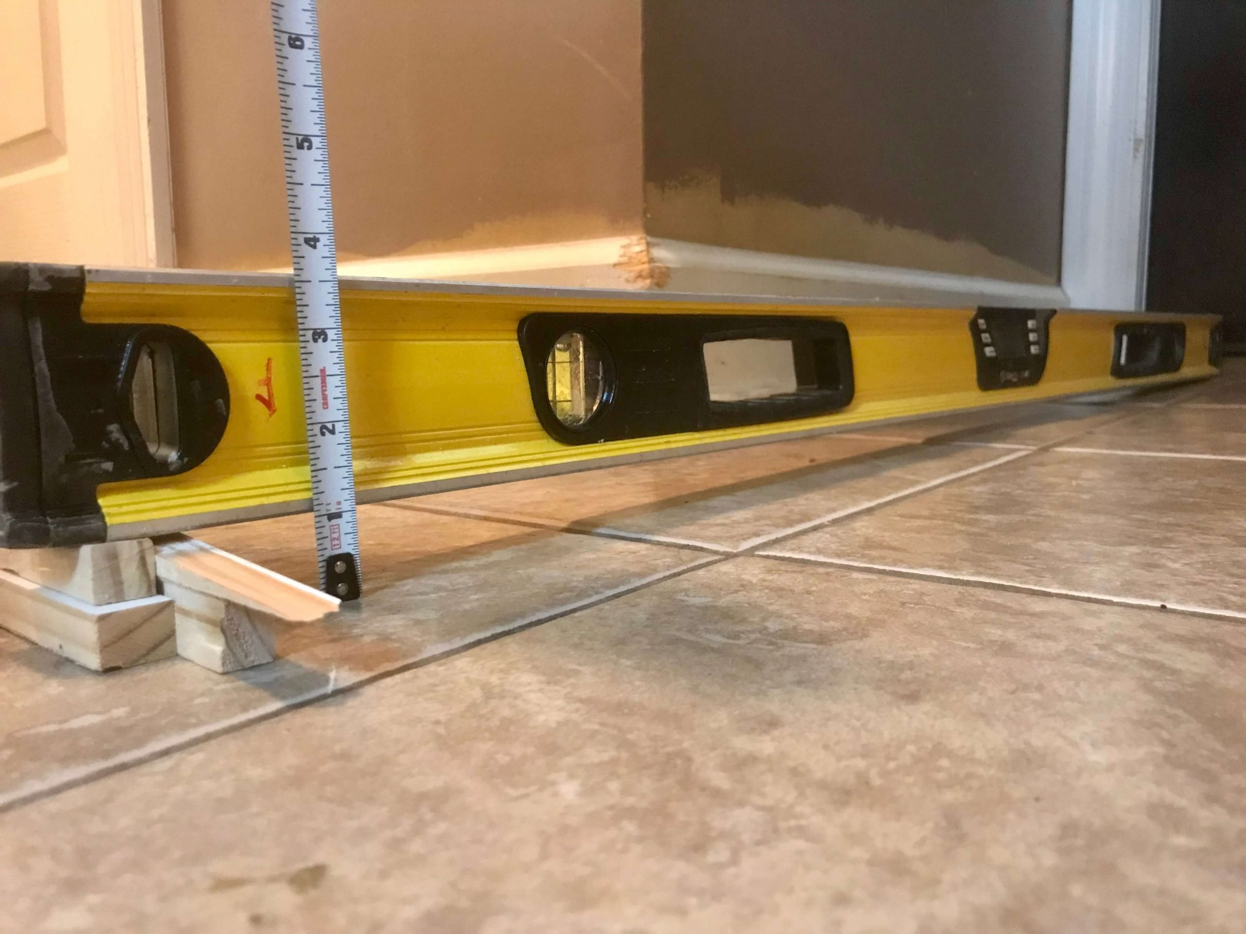 Un-level Floors