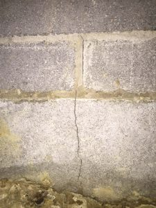 Cracked Basement Block