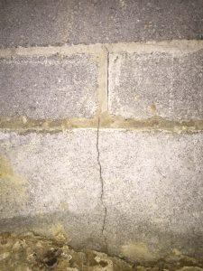 Cracked Basement Block