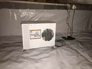 Crawlspace Dehumidifier